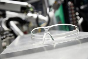 Brille, UVEX, transparent Arburg und Ems-Chemie