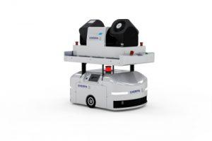Roboter Oberflächendesinfektion