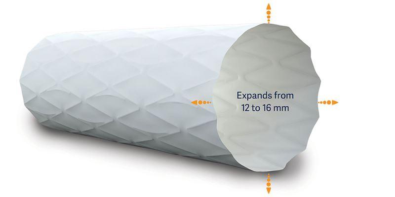 ballonexpandierbarer gecoverter Stent