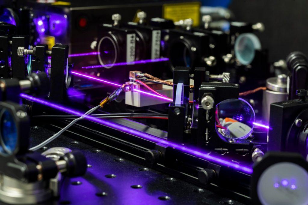 Jubiläum des Lasers