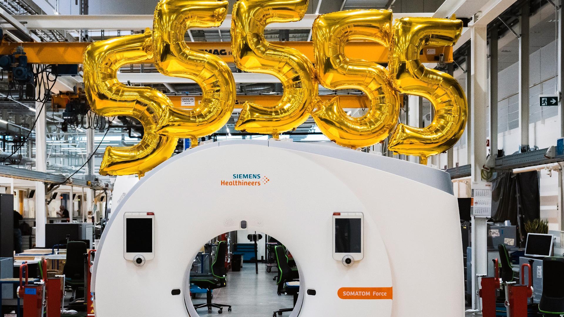 Computertomograph Siemens healthineers