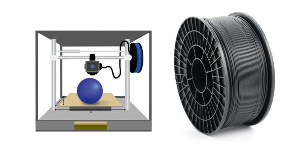 Absorber 3D-Drucker