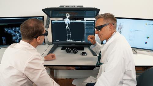 3D PluraView und Vesalius3D
