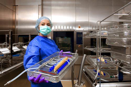 Sterilisationsverfahren Medizintechnik